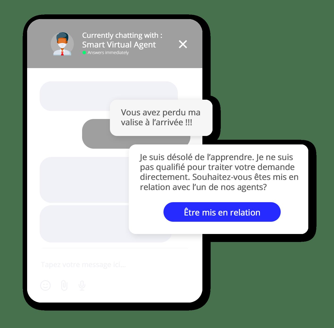 escalade zendesk chatbot
