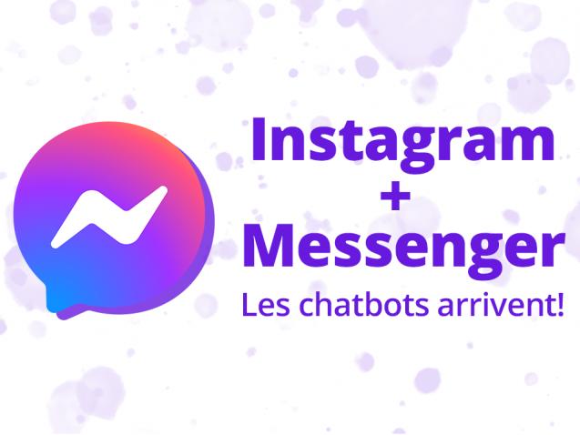 Chatbot sur instagram pour automatiser le service client